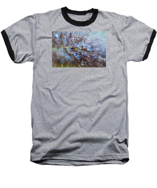 Baseball T-Shirt featuring the photograph Rain Drops - 9751 by G L Sarti