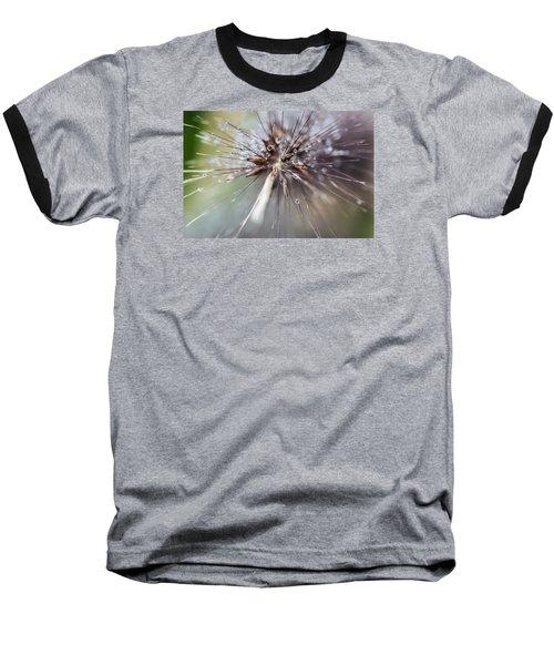 Baseball T-Shirt featuring the photograph Rain Drops - 9756 by G L Sarti