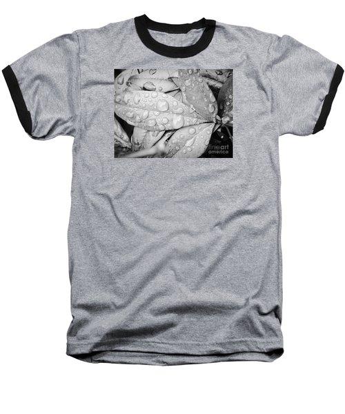 Baseball T-Shirt featuring the photograph Rain Drops by Robin Coaker