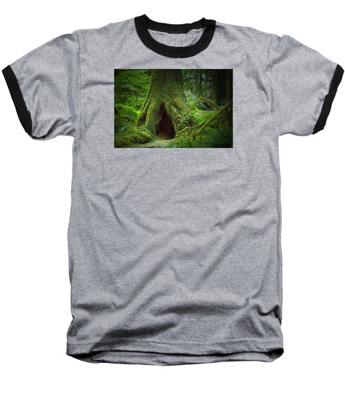 Rain Forest Walk 2 Baseball T-Shirt