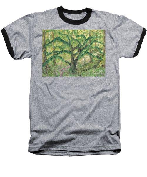 Rain Forest Washington State Baseball T-Shirt