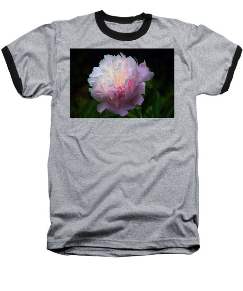 Rain-kissed Peony Baseball T-Shirt