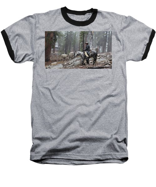Rain Riding Baseball T-Shirt
