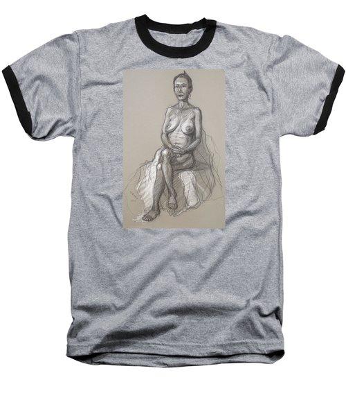 Rain Seated #2 Baseball T-Shirt
