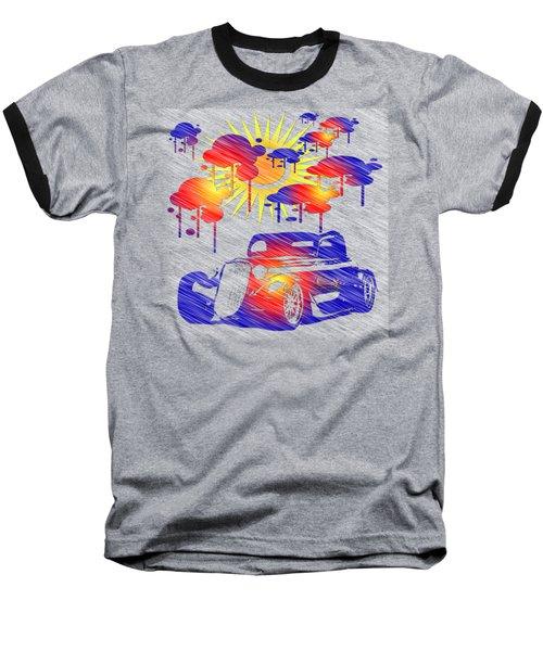 Rain Showers Baseball T-Shirt by EricaMaxine Price