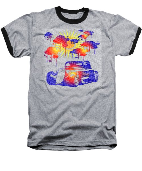 Rain Showers Baseball T-Shirt