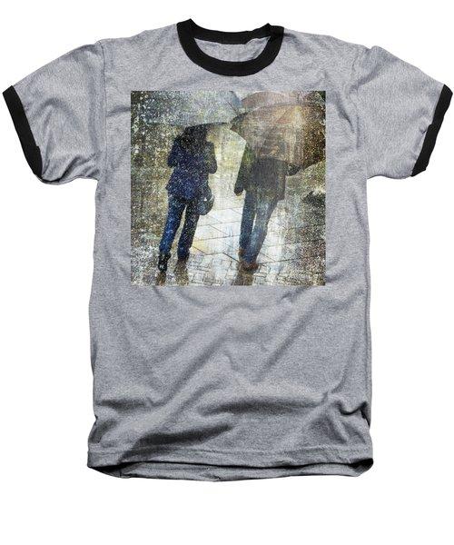 Rain Through The Fountain Baseball T-Shirt