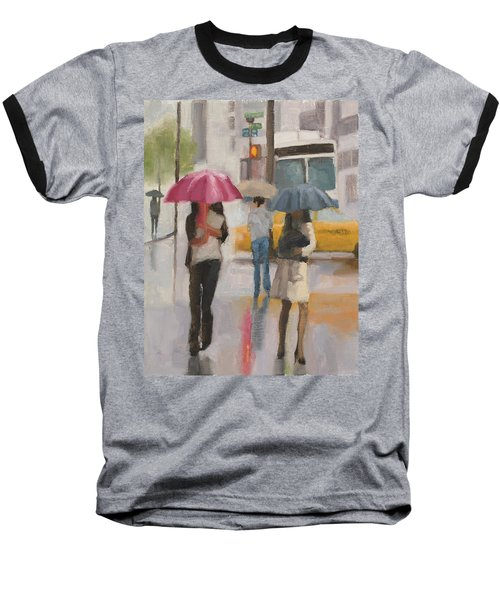 Rain Walk Baseball T-Shirt