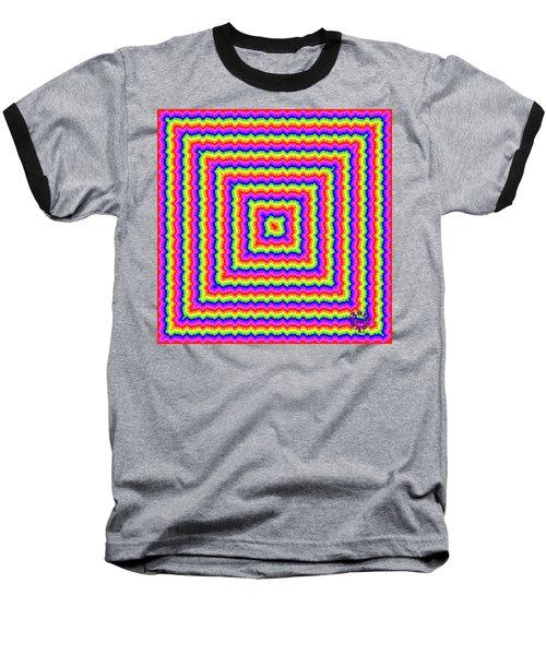 Baseball T-Shirt featuring the digital art Rainbow #3 by Barbara Tristan