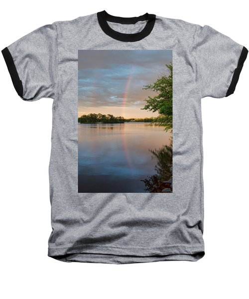 Rainbow After The Storm Baseball T-Shirt