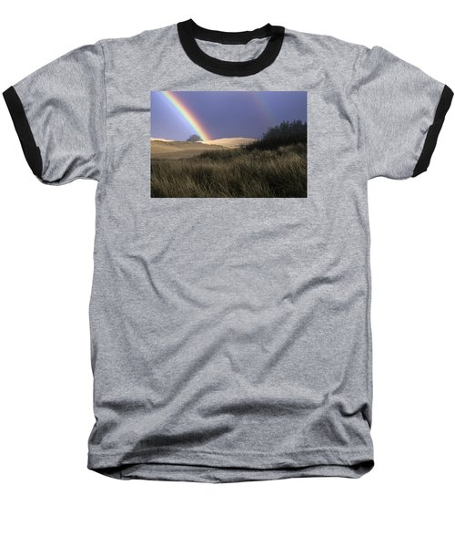 Rainbow And Dunes Baseball T-Shirt