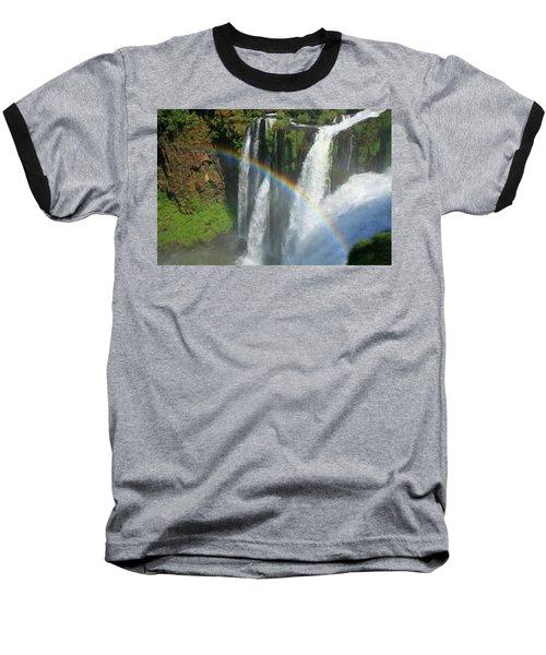 Rainbow At Iguazu Falls Baseball T-Shirt