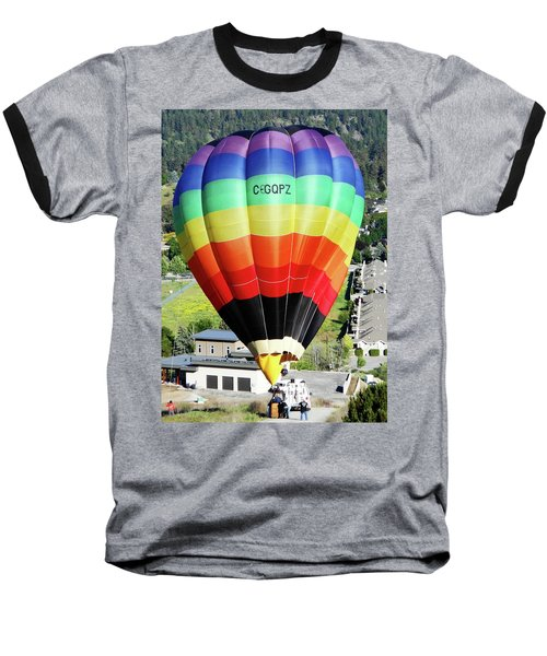 Rainbow Balloon 5 Baseball T-Shirt