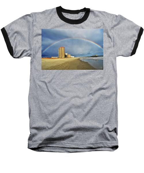 Rainbow Beach Baseball T-Shirt