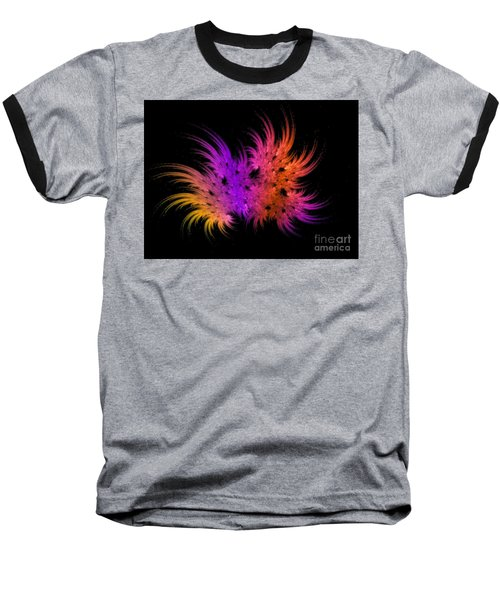 Rainbow Bouquet Baseball T-Shirt