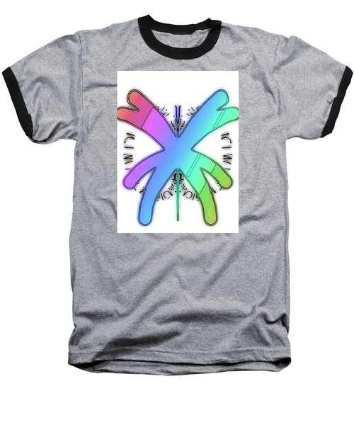 Rainbow Bug Baseball T-Shirt
