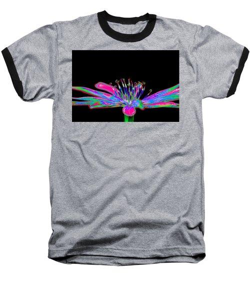 Rainbow Chicory Baseball T-Shirt by Richard Patmore