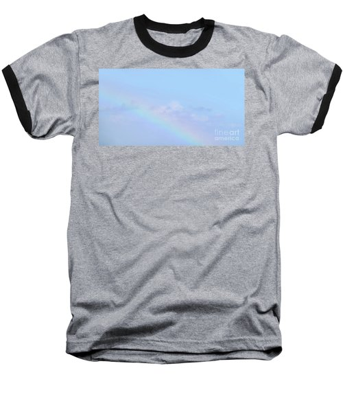 Baseball T-Shirt featuring the digital art Rainbow Clouds And Sky by Francesca Mackenney