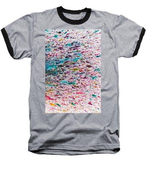 Rainbow Explosion Baseball T-Shirt