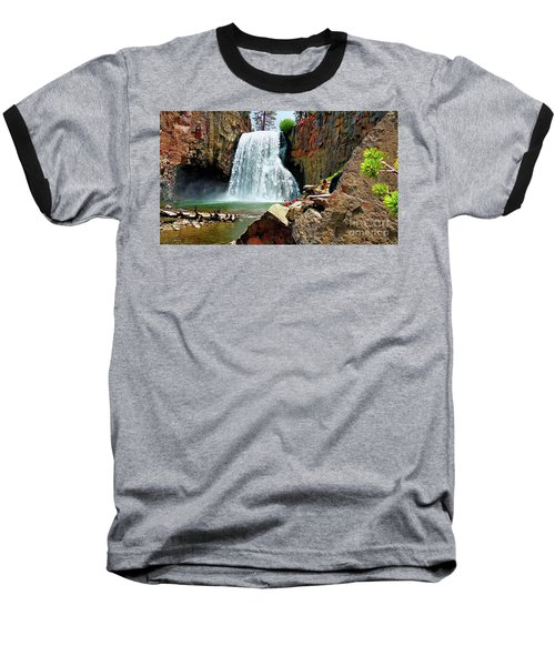 Rainbow Falls 4 Baseball T-Shirt