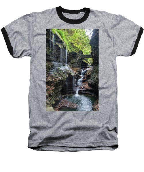 Rainbow Falls, Ny Baseball T-Shirt
