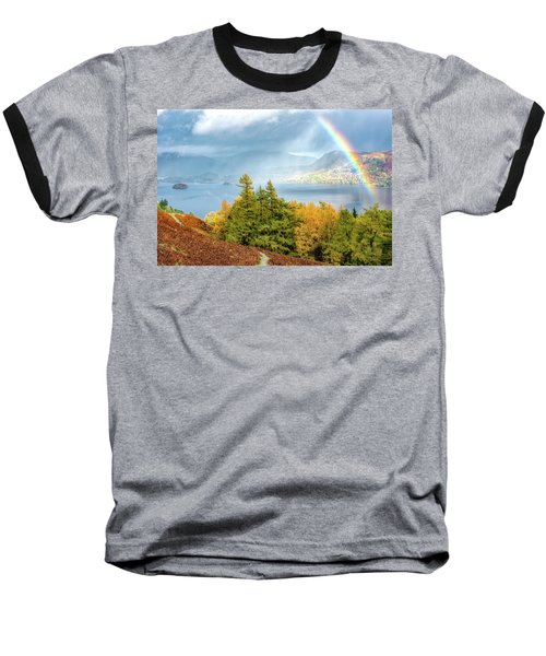 Rainbow Gold Baseball T-Shirt