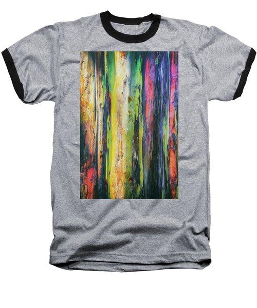 Baseball T-Shirt featuring the photograph Rainbow Grove by Ryan Manuel
