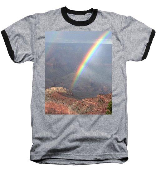 Rainbow Meets Mather Point Baseball T-Shirt