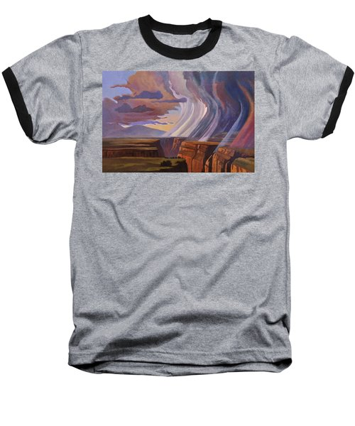 Rainbow Of Rain Baseball T-Shirt by Art James West