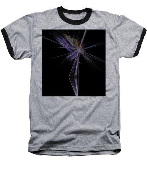 Baseball T-Shirt featuring the digital art Rainbow Palm by Sara  Raber