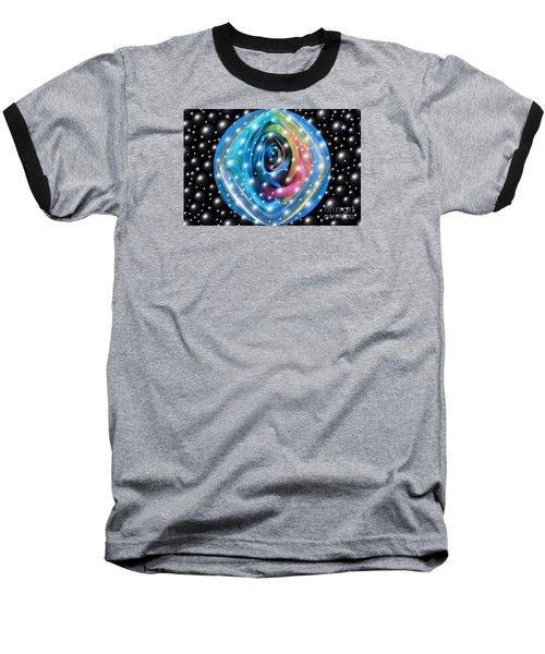 Rose Planet Baseball T-Shirt