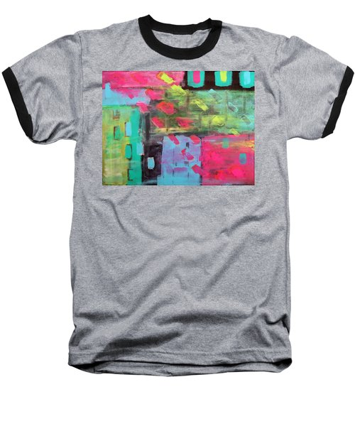Rainbow Rain Baseball T-Shirt