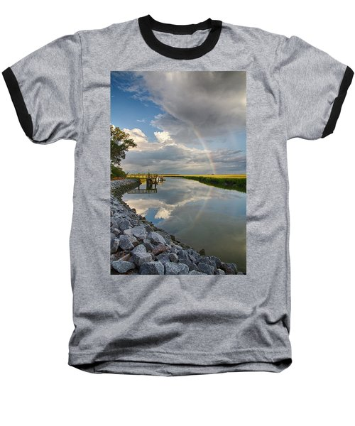 Rainbow Reflection Baseball T-Shirt