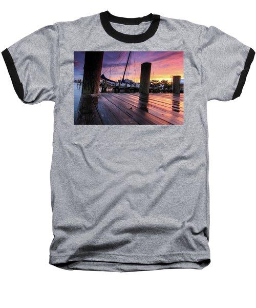 Baseball T-Shirt featuring the photograph Rainbow Reflections by Jennifer Casey