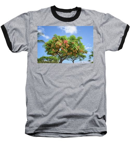 Baseball T-Shirt featuring the photograph Rainbow Shower Tree 1 by Jim Thompson