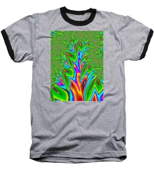 Rainbow Tree Baseball T-Shirt