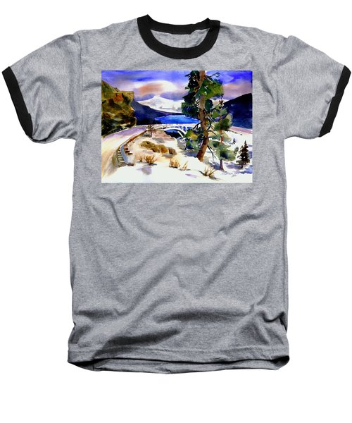 Rainbowbridge Above Donner Lake Baseball T-Shirt
