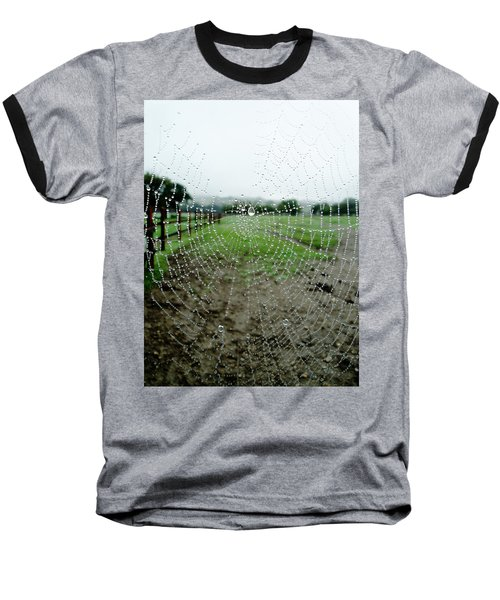 Raincatcher Web Baseball T-Shirt