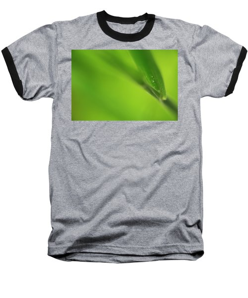 Raindrop On Grass Baseball T-Shirt