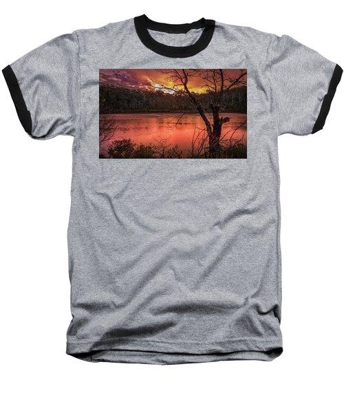 Raindrops On Nullica Baseball T-Shirt