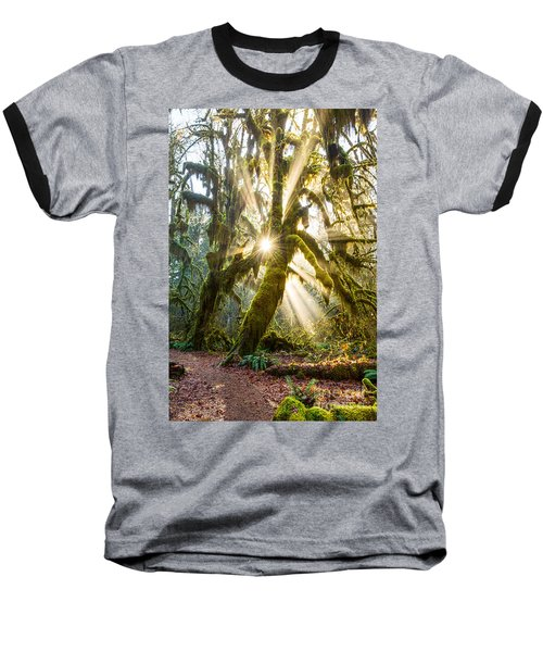 Rainforest Magic Baseball T-Shirt