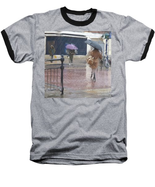 Baseball T-Shirt featuring the photograph Raining All Around by LemonArt Photography
