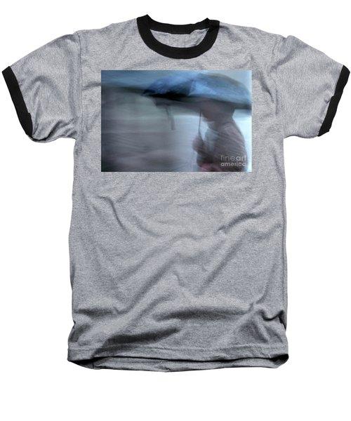 Raining In New Orleans Baseball T-Shirt by Kathleen K Parker