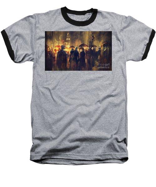 Raining Baseball T-Shirt