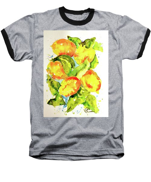 Rainwashed Lemons Baseball T-Shirt