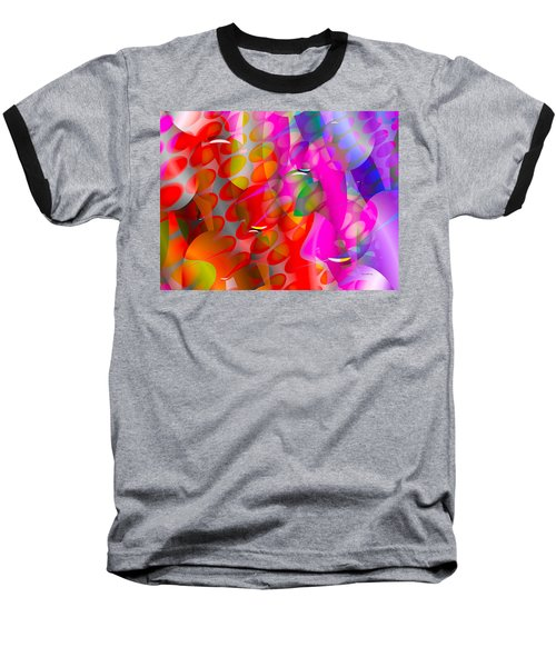 Baseball T-Shirt featuring the digital art Rainy Day Girl by Robert Orinski