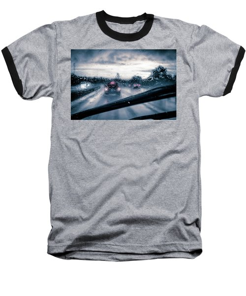 Rainy Day In July Baseball T-Shirt