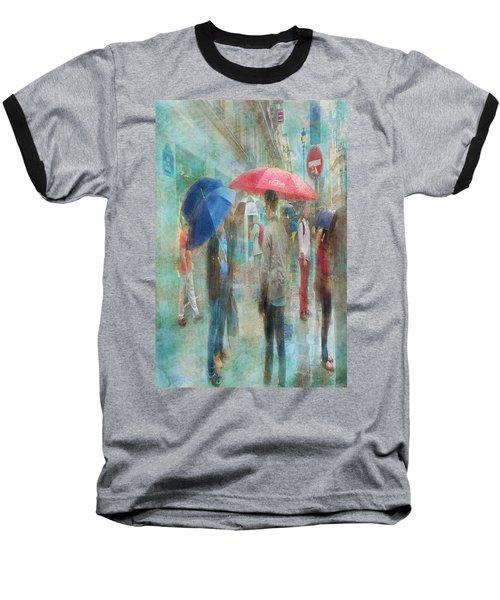 Rainy In Paris 6 Baseball T-Shirt