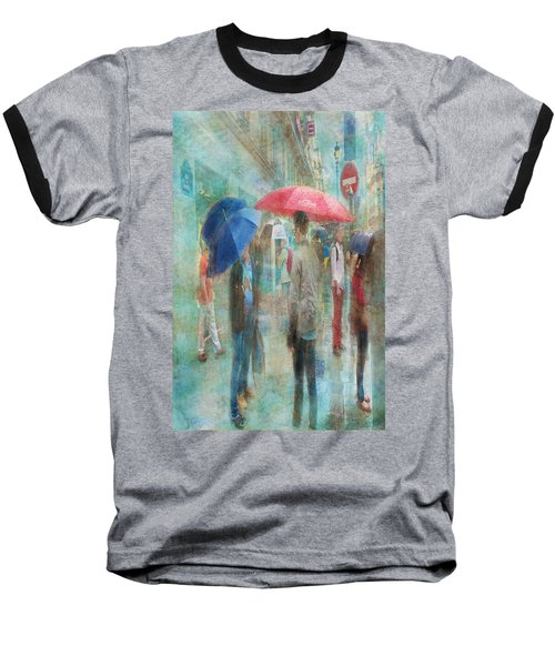 Rainy In Paris 6 Baseball T-Shirt