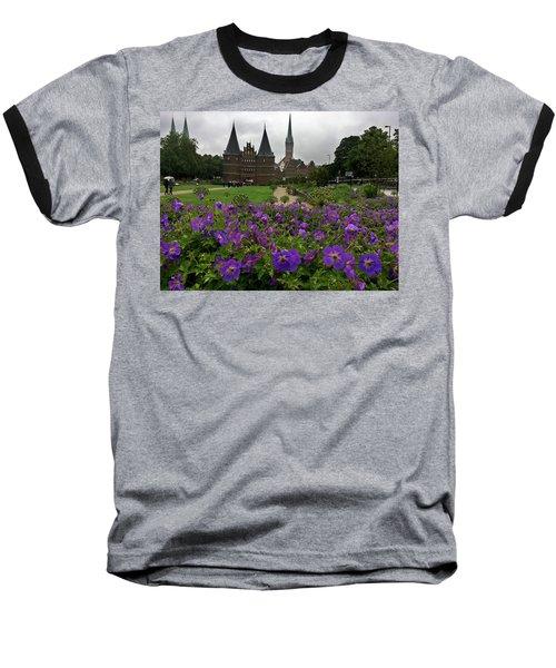 Rainy Luebeck Is Beautiful Baseball T-Shirt